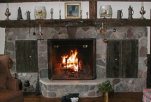fireplaces / by Jeannine Tippins