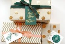 wrapping & packaging / by Meg Bowman