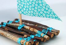 Crafts for the boys!! / by Heidi Alberts