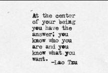 wise words / by Jodie Crowe