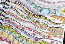Art - Line & Zentangles / by Dana Lynn