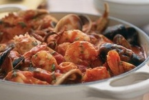 Mixed Seafood Dishes / Sweet seafood medleys. Repin as many as you like....the whole point of this is to share!  / by Ann Levin