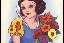 abc & number vintage postcards / by Shelly Krueger