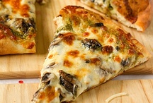 Pizza / Baked bread and cheese makes a meal! Repin as many as you like....the whole point of this is to share!  / by Ann Levin