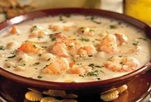 Seafood Soups/Stews / The rich deliciousness of chowders and bisque! Repin as many as you like....the whole point of this is to share! / by Ann Levin