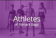 Athletes of Fitmark Bags / Representing the style and athleticism of the Fitmark brand. / by fitmark