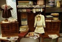 Miniature Dolls Clothes Closet / by Therese