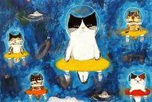 cats / by Tonya Ricucci