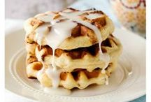 Made in a Waffle Iron / We're crazy for all things that you can wrap and stuff in between waffles. Here are some of our favorite recipes. / by Pillsbury