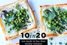 Yummy yummy FOOD: Meals and Savory Dishes / Recipes for savory, non-sweet dishes and meals. / by Carly J. Cais of Chic Steals