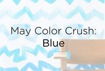 May Color Crush: Blue / by Donna Morgan