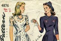 Vintage patterns / by Charlotte Notenboom
