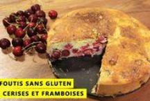 Sans gluten (recettes sucrées) / Lien vers les recettes salées : http://www.pinterest.com/handgblog/sans-gluten-recettes-sal%C3%A9es/ / by Vérina B