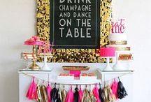 Party Ideas / by Mandy Widom