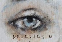 Art - Tips and Tutorials! / Tips, Instruction for Drawing, Painting, Etc. / by Karen Webb Cook