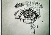 Art - Doodle - Zentangles / Beautiful and Interesting Zentangles - Doodles! / by Karen Webb Cook