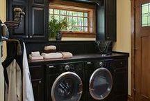 Laundry Rooms / by Leslie Kirkindoll