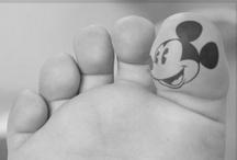 Disney tatoo's / by we love disney x