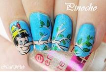 disney nail art / by we love disney x