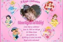 disney birthday invitations / by we love disney x