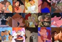 Disney kisses / by we love disney x