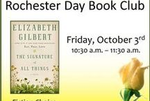 ~DAY BOOK CLUB~ / by Rochester Public Library District