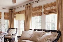 Window Treatments/curtains / Lovely window treatments from DIY roman shades to striped curtains. Tons of inspiration! / by Marie {Blooming Homestead}
