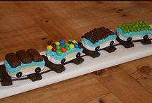 Train Birthday Party Ideas / Thomas the train is ready to co-host a birthday bash with your child! Here, our depot for all things railroad related. All aboard for BIG fun! / by Parents Magazine