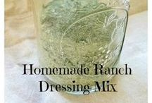 Sauces & Dressings / Homemade versions of store bought sauces and recipes that are so much better for you / by The Not So Perfect Housewife Blog