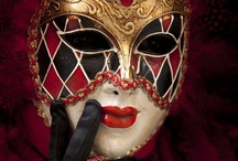 MASKS / I LOVE MASKS THEY ARE SO PRETTY AND MYSTERIOUS!!! / by Lisa Dixon