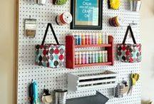 Craft Room Ideas / by Lyndsey Sidor