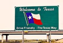 Texas here we come. / by Cindy Brown