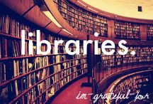 Books, Libraries, & Authors / by Monica Reed