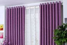 Curtain Ideas / Curtains are one of the easiest ways to give a room a face-lift. They have the power to instantly brighten or soften a room. / by 27estore.com