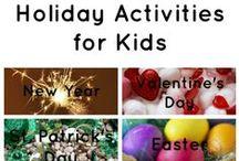 Kid Activities / by Camie Thomas