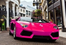 pink cars & other vehicles / by Dietmar Hoffmann
