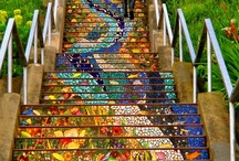 Architecture - Amazing Stairs / Taking One Step at a Time!! / by Ginny Toll