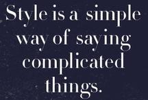 My Style / by Aijeleth Shahar Boda