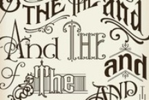 typography  / typographical art I like the look of ...  / by Mindful Productivity