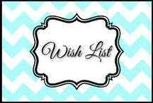 Wish list / by Dani