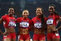 """Go For The Gold / We can't wait to cheer on our athletes in this year's Olympics and here we are highlighting some of those """"True Athletes"""" who are going for the gold in 2012! / by The Vitamin Shoppe"""
