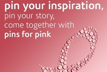 """Pins For Pink / October is Breast Cancer Awareness month. Help us celebrate one Pin at a time with """"Pins for Pink."""" Pin your inspiration, your motivation, your story and what breast cancer awareness means to you. Come together in spreading awareness with """"Pins for Pink."""" If you would like to contribute to """"Pins for Pink"""" please comment and we will add you. :)  / by The Vitamin Shoppe"""