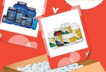 """Vitabox Favorites / September is all about The Vitamin Shoppe Buy One Get One 50% off sale, but we're giving our fans the chance to pin what they want to win from the sale for a chance to win a $250 prize pack!  1. Follow @vitaminshoppe on Pinterest 2. Make a board called """"My Vitabox Sweepstakes"""" 3. Head to vitaminshoppe.com and pin up to $250 of your favorite BodyTech and Vitamin Shoppe brand products 4. email a link to your board by 10/1/2014 to socialmedia@vitaminshoppe.com / by The Vitamin Shoppe"""