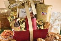 """Gift Baskets / There's no better way to say """"Thinking of You"""" or """"I Appreciate You,"""" than with a beautiful gift basket.   / by Figi's Gifts in Good Taste"""
