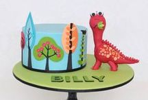 Childrens Cakes / Fun cakes for kids birthdays.  / by Lozz Staf