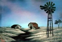 Country Windmills / by Wendy Bush