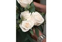 Mom Wedding Flowers / Who says Mom's can't carry flowers at a wedding. Corsages are nice too but how fun is it to explore other options for the Mothers of the Bride and Groom? / by Monday Morning Flower and Balloon Co