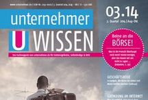 Magazines / archive of our magazine Mittelstand WISSEN - articles and checklists about interesting stuff for entrepreneurs and employees :) / by unternehmer_de