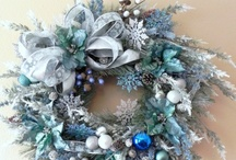 Wreaths, wreaths, and more wreaths / by Kimberly Bolin