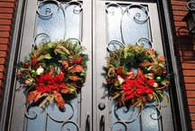 Wreaths And Door Art / by Donna Stowers